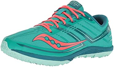 Saucony Women's Kilkenny XC7 Flat Track Shoe, Teal/red, 6 M US