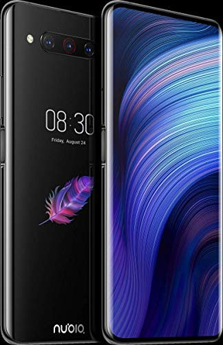 "ZTE Nubia Z20 Dual-Screen 6.42"" 128GB 6GB RAM (GSM Only, No CDMA) Factory Unlocked No Warranty - International Version (Black)"