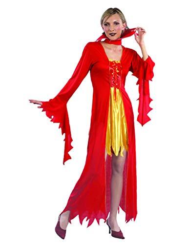 Boland Teufelinnen-Kostüm Halloween für Damen