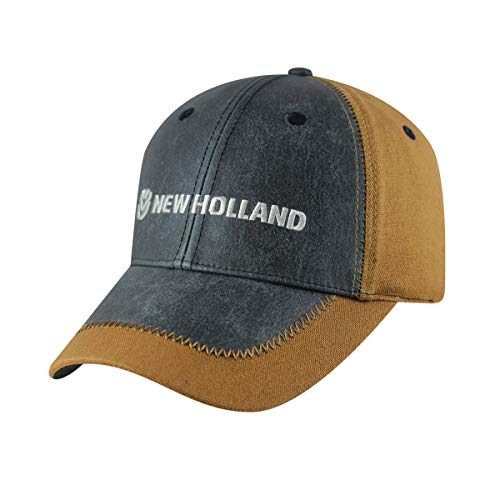 New Holland Canvas Cap w/Pencil Holder
