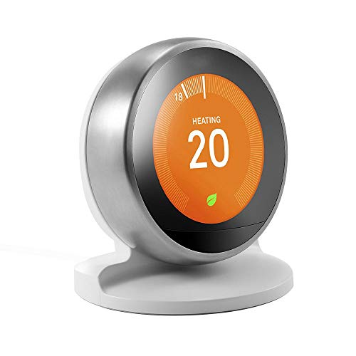 Table Bracket Stand for Nest Learning Thermostat, Nest Thermostat 3rd/2nd Generation ONLY by HOLACA (White)