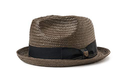 BRIXTON Castor Fedora Headwear, Schwarz, S