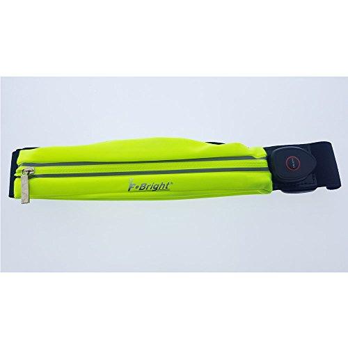 Cinturón Deportivo - Riñonera elástica extensible especial running con luz led y...