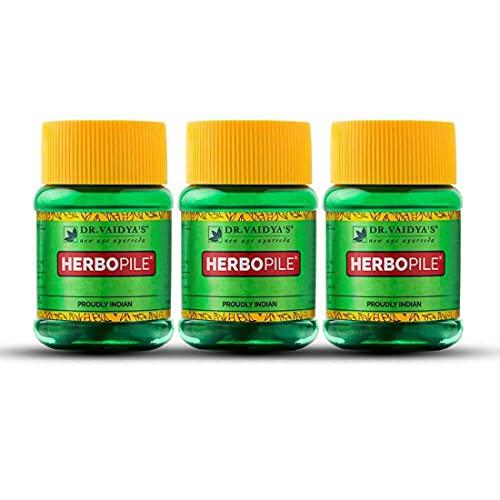 Dr. Vaidya's Herbopile Pills ( Pack of 3 )