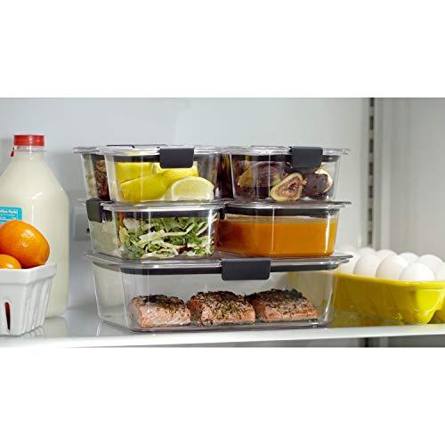 Rubbermaid Leak-Proof Brilliance Food Storage Container