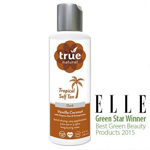 True Natural Tropical Tan - Self Tanner For Face Body by True Natural