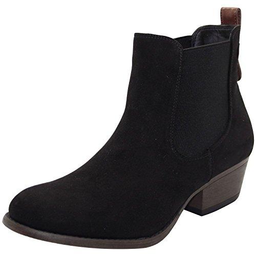 Emma Shoes ,  Damen Hohe Hausschuhe, schwarz - Lilly Rose-Black - Größe: 42