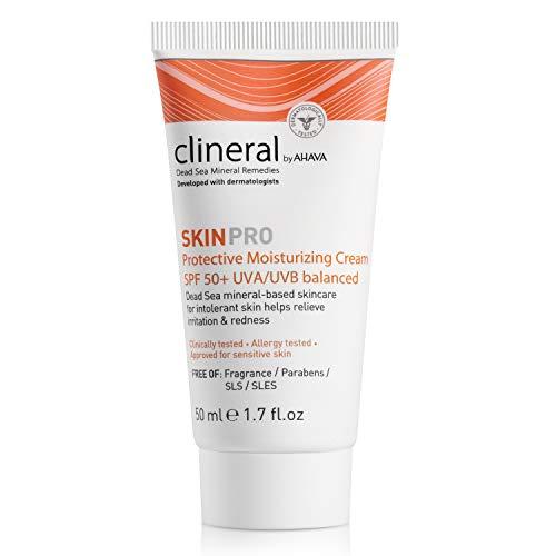 AHAVA Clineral SkinPro Crema Hidratante Con Protección Solar (SPF 50) - 50 ml.