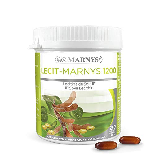 MARNYS Lecit-Marnys Lecitina de Soja 250 cápsulas 1200 mg