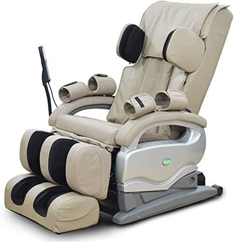 Sillas De Masaje Cuerpo Completo Y Reclinable, Masaje Inteligente Brazo de cuerpo completo Relajación - Sistema de masaje automático - Cero Gravedad - Calefacción - Sofá eléctrico Sofá Sofá Oficina de