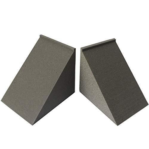 """Mybecca Acoustic Foam Bass Trap Studio Insonorización para esquinas de pared 12"""" x 12"""" x 12"""""""