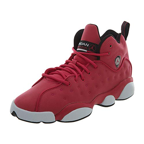 Jordan Girls Jumpman Team II (GS) - 820276-600 - Rush Pink/Rush Pink-Black-DK Smoke Grey - SZ. 9.5 Y (US)