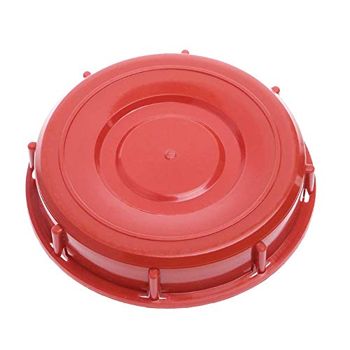 IBC Tote Lid Cover IBC Tank Lids Water Liquid Storage Plastic Cover Lid Cap Adaptor with Gasket for Chemical Medicine Food and Other Industries Storage