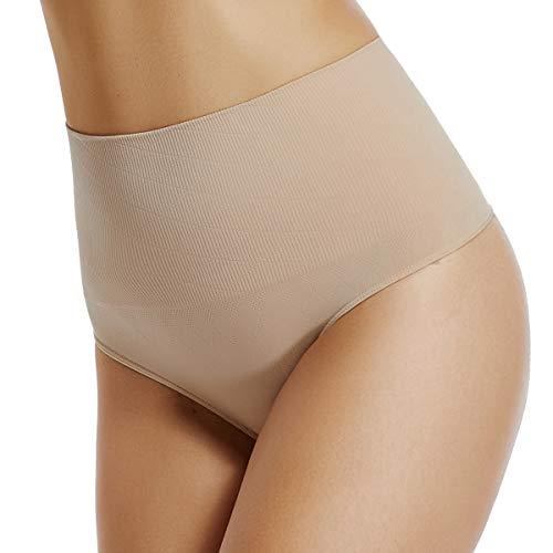 WOWENY Mutande Contenitive Donna Vita Alta Slip Contenitivo Snellente Underpants Thong String Biancheria Intima Cintura Mutandine