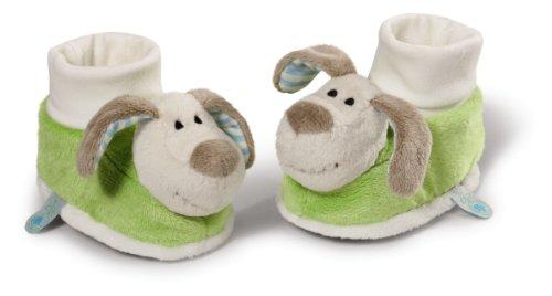 Nici 36953 my first Babyschuhe/Bootie mit Rassel, Hund