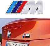 1x Stemma Emblema Compatibile Serie M Sport x1 X 3 X4 X 5 X6 Z4 e altri modelli serie 1 3 4 5 6 7 M3 M5 M6 Z3