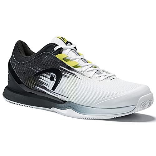 HEAD Sprint Pro 3.0 Clay Men WHRV, Zapato de Tenis Hombre, weiß/Schwarz, 43 EU