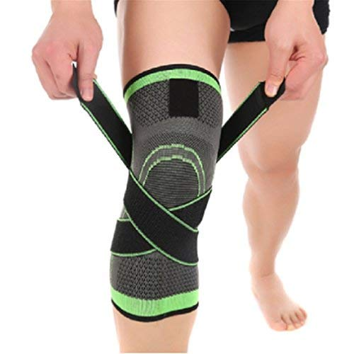 Ultimate Knee Compression Support Sleeve – Flexible Breathable Knee Brace for Running Sports & Fitness Promotes Pain Relief & Muscle RecoveryXL