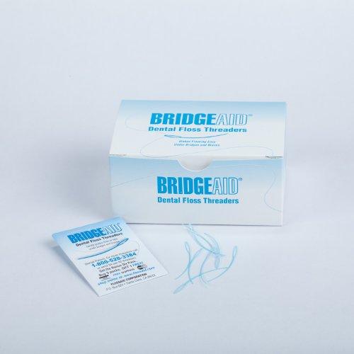 threaders for dental flosses Floss Aid TDPS Bridge Aid Dental Floss Threader (Pack of 1000)