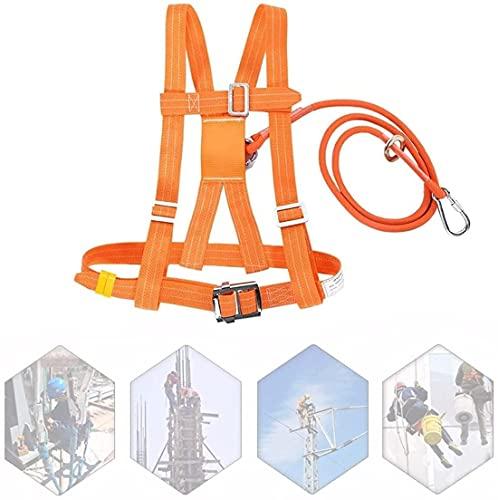 WXFCAS Kit de arnés de seguridad de protección contra caídas 1,6 m, 3 m, 6 m, arresto de detención de seguridad de lujo, construcción, andamios, protección de seguridad de caída media Cubierta del árb