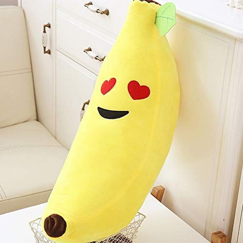 weiqiang Kreative Obstkissen niedlichen Plüschtier große Peeling Banane Schlafkissen Langen Streifen Puppe süße Liebe 65 cm