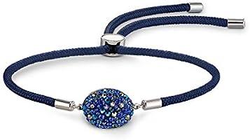 Swarovski Air Element Black Crystal Stainless Steel Bracelet