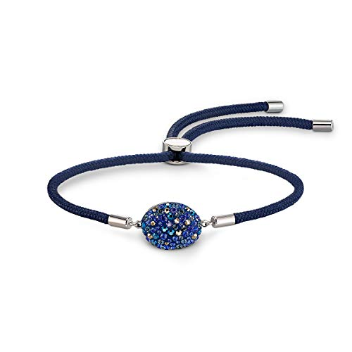 Swarovski Pulsera Swarovski Power Collection Water Element, azul, acero inoxidable