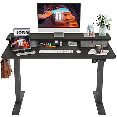 FEZIBO Height Adjustable Electric Standing Desk...