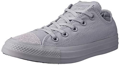 Converse Damen Chuck Taylor All Stars Sneaker, Grau (Wolf Grey/Wolf Grey/Silver 000), 37 EU