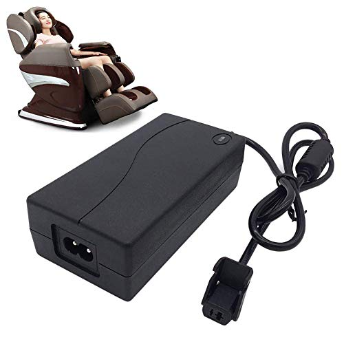 Universal Power Adapter For Electric Recliner Sofas, 29V 2A AC/DC Adapter Power Supply For Massage Chair, Compatible with ZBHWX-A290020-A W52RA73-290018 (29V 2A)