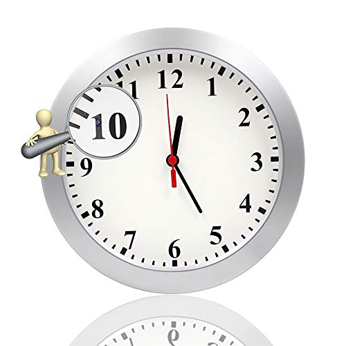 Newwings Wall Clock Camera Nanny Cam with PIR Motion Detection, Indoor...