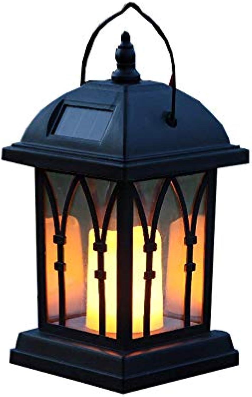 Modenny LED Solarleuchten Outdoor wasserdichte Kronleuchter Hngelampen Windlichter Gartensolar Laterne Rasenkerzen Tischlampen Dekorative Landschaftsbeleuchtung [Energieklasse A ++]