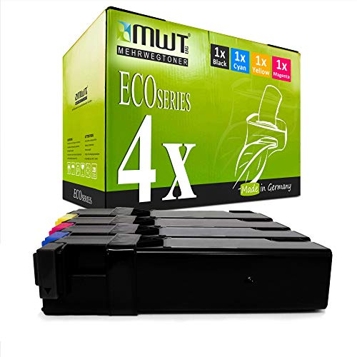 4X MWT Toner für Xerox Phaser 6125 V N ersetzt 106R01331-106R01334 Druckerpatronen Patronen