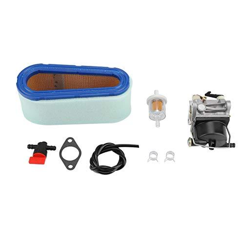 KUIDAMOS Kit de reconstrucción de carburador de Filtro de Aire, excelente carburador de Repuesto para Filtro de Aire Tecumseh 640065A 13Hp 13.5Hp 14Hp 15Hp