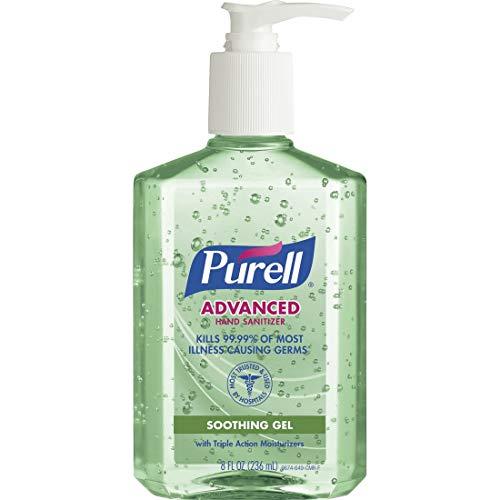 海外直送品Purell Purell Advanced Hand Sanitizer Gel With Pump Aloe, Aloe 8 oz