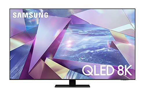 """Samsung TV QE55Q700TATXZT Smart TV 55"""", Serie Q700T QLED, 8K, Wi-Fi, con Alexa integrata, 2020, Titan Black"""