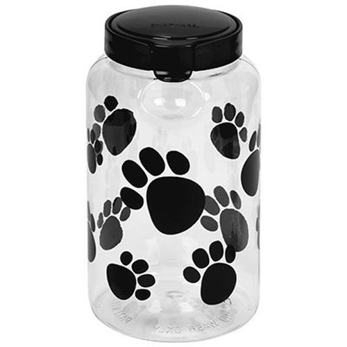 Snapware Airtight Food Storage Pet Treat Canister, Large, Pack of 1
