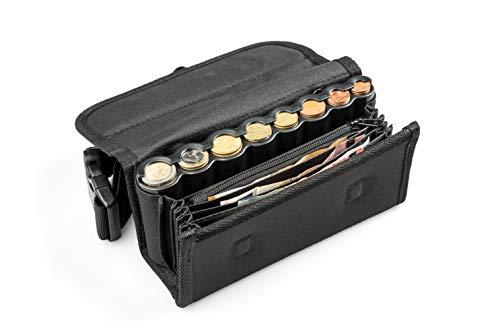 Cartera Camareros con dispensador para 8 Tipos de Monedas de Euro...
