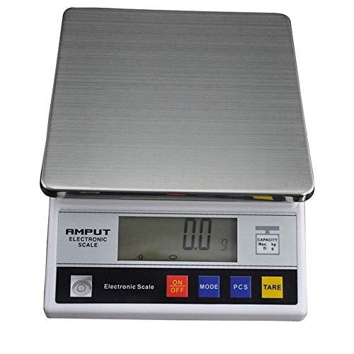 Präzisionswaage Feinwaage Digitalwaage Laborwaage Küchenwaage Zählwaage 7500 g / 0,1 g LCD Balance