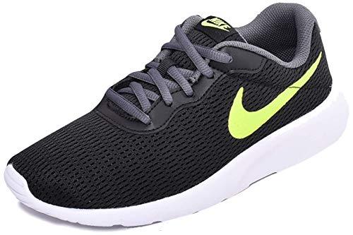 Nike Tanjun, Zapatillas de Atletismo para Hombre, Multicolor (Black/Volt/Dark Grey/White 028), 38.5 EU
