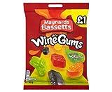Maynards Bassetts Wine Gums £1 Sweets Bag (165g x 6)
