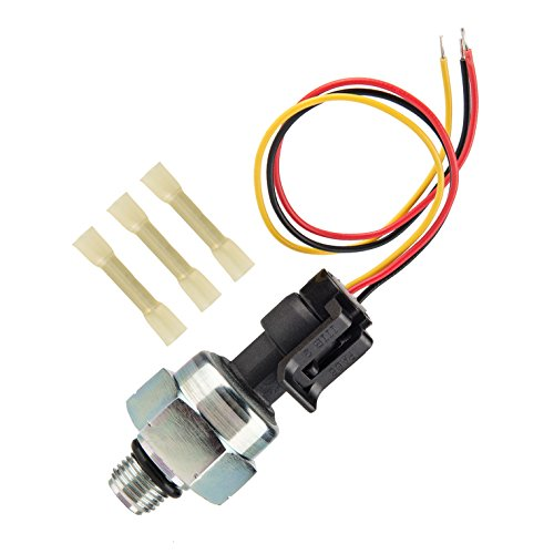 7.3 ICP Sensor with Pigtail Connector, Compatible with 1997-2003 Ford 7.3L Diesel Engines Powerstroke, Injection Control Pressure Sensor