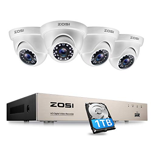 ZOSI 1080P Kit de Cámara de S
