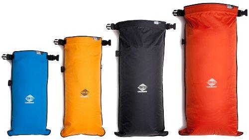 Aqua Quest Coastal Sunset - 100% Waterproof 4-piece Dry Bag Set - 5, 10, 20 & 30 L, Durable, Compact, Lightweight, Versatile - Blue, Yellow, Black, Orange by Aqua Quest