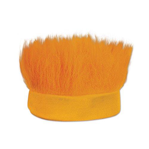 Beistle Hairy Headband, Orange