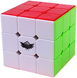 Magic Cube 3x3x3 Stickerless Speed Puzzle Cube (56mm)