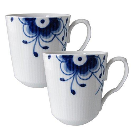 Royal Copenhagen 1016871 Blue Fluted Becher, Porzellan
