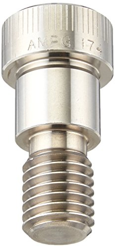 17-4 PH Stainless Steel Shoulder Screw, Socket Head Cap, Hex Socket Drive, Standard Tolerance, Meets ASME B18.3, 5/16