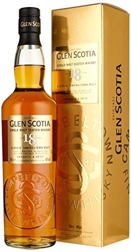 Glen Scotia 18 Years Old Double Cask Single Malt Scotch Whisky (1 x 0.70 l)