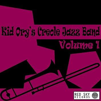 Kid Ory's Creole Jazz Band, Vol. 1